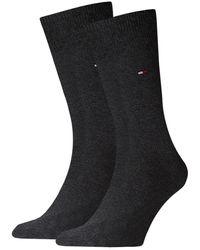 Tommy Hilfiger Graue Socken Th Men Sock Classic
