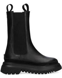 Janet & Janet - Zwarte Chelsea Boots 01000 - Lyst