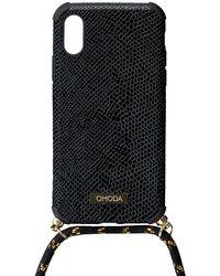 Omoda Schwarze Accessoires Handykette Xs/max Iphone Koord