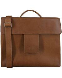 MYOMY Bruine Laptoptas My Home Bag Business Bag