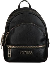 Guess Zwarte Rugtas Manhattan Small Backpack