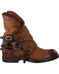 A.s.98 Cognac Biker Boots 207235 - Bruin