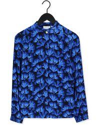 FABIENNE CHAPOT Donkerblauwe Blouse Garden Blouse