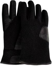 UGG Zwarte Handschoenen Fabric And Leather Glove