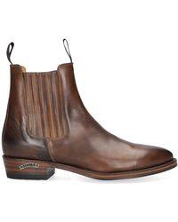 Sendra Cognac Cowboylaarzen 11336 - Bruin