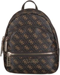 Guess Bruine Rugtas Manhattan Small Backpack