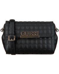 Guess Zwarte Schoudertas Matrix Cnvrtble Xbody Belt Bag