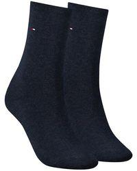 Tommy Hilfiger - Blaue Socken 371221 - Lyst