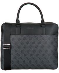 Guess Zwarte Laptoptas Vezzola Briefcase