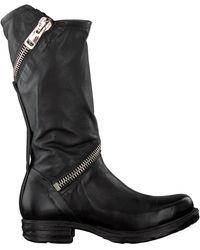 A.s.98 Schwarze Hohe Stiefel 259373