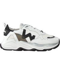 WOMSH Weiße Sneaker Low Futura