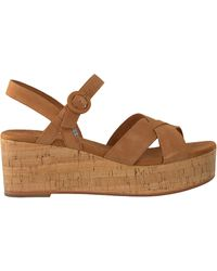 TOMS - Cognac Sandalen Wm Willow Wdge - Lyst