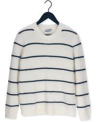 Just Female Pullover Eos Knit Nicht-gerade - Mehrfarbig