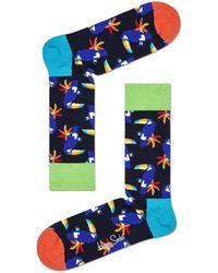 Happy Socks Mehrfarbige/bunte Socken Toucan