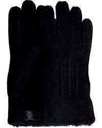 UGG Zwarte Handschoenen Contrast Sheepskin Glove