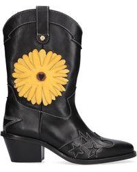 FABIENNE CHAPOT Stiefeletten Jolly SunSet Flower Boot - Schwarz