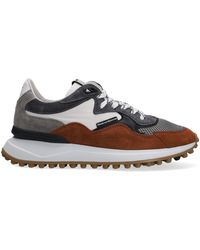 Floris Van Bommel Cognacfarbene Sneaker Low 16339 - Mehrfarbig