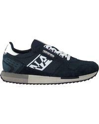 Napapijri Blauwe Lage Sneakers Virtus