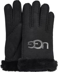 UGG Schwarze Handschuhe 18691