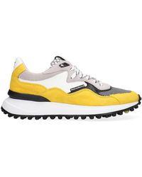 Floris Van Bommel Gelbe Sneaker Low 16339