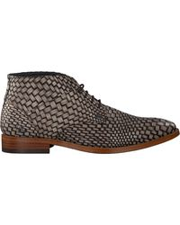 Rehab Taupe Business Schuhe Barry Brick - Mehrfarbig
