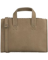 MYOMY Taupe Handtas My Paper Bag Handbag Mini - Meerkleurig