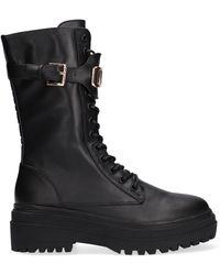 NIKKIE Bottines À Lacets Lynn Boots - Noir