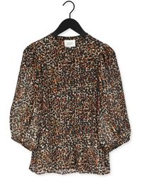 Second Female Bluse Erna Shirt - Mehrfarbig