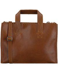 MYOMY Bruine Handtas My Paper Bag Handbag Mini