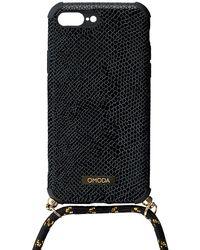 Omoda Schwarze Accessoires Handykette 7+/8+ Iphone Koord