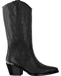 Lola Cruz Zwarte Hoge Laarzen 290b10bk
