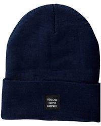 Herschel Supply Co. Blauwe Muts Abbott