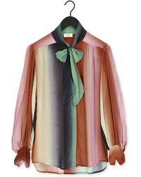 Ottod'Ame Blouse Camicia - Multicolore