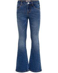 ONLY Konlinn Blue Flared Jeans - Blau