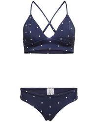 ONLY Triangel Bikini - Blau