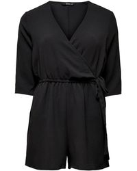 ONLY Wickel Playsuit - Schwarz