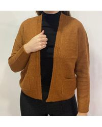 Ontrend Sophia Knit Cardigan With Pockets - Multicolour