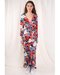 Glamorous Florrie V-neck Dress - Red