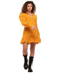 WEILI ZHENG Dress - Orange