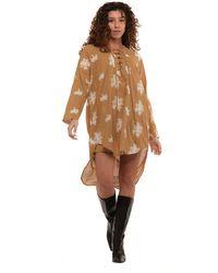 WEILI ZHENG Dress - Brown
