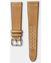 Hestrap Camel Pippen Leather Watch Strap - Brown