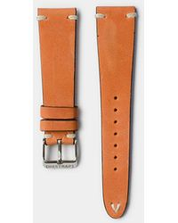 Hestrap Coral Zico Leather Watch Strap - Multicolor
