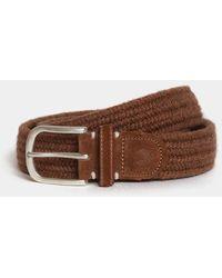 Brydon Brothers Brown Wool / Brown Suede Keswick Belt