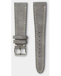 Hestrap Gray Suede Tyson Watch Strap