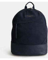Want Les Essentiels De La Vie Navy 2.0 Kastrup Backpack - Blue