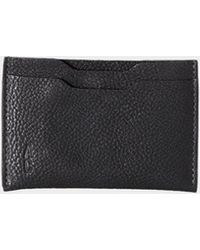 Ally Capellino Black Pete Leather Card Holder