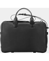 Troubadour - Black Leather Briefcase - Lyst