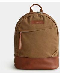 Want Les Essentiels De La Vie Beige / Cognac Kastrup 2.0 Backpack - Natural