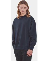 YMC Navy Triple Ls T Shirt - Blue