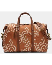Mismo Palm Jacquard / Cuoio M/s Avail - Brown